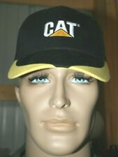 "NEW WITH TAGS ""CAT"" CATERPILLAR BRAND HEAVY EQUIPMENT ONE SIZE SPORTS CAP"