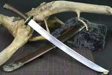 Handmade High Carbon Steel blade sabre replica of Qing Dao Chinese broad sword