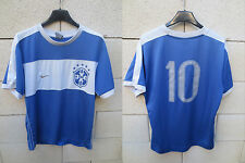 VINTAGE Maillot BRESIL n°10 BRASIL BRASIL shirt jersey away trikot camiseta M