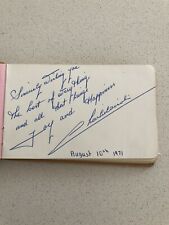 More details for vintage collection of autographs from blackpool circus clowns