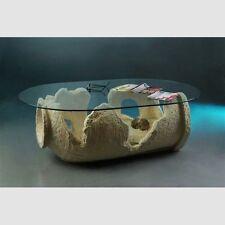 Medusa Couchtisch Glastisch Säulen griechische Tische Style Wohnzimmertisch 51