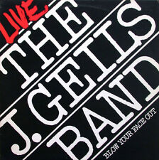 "12"" DLP J. GEILS BAND Live Blow Your Face out (give it to me) 70`s Warner"