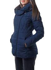 Women Emporio Armani EA7 Blue Padded Jacket. Size M.