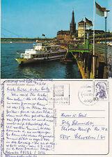 GERMAN RIVER CRUISER MS DUSSEL A SHIPS CACHED COLOUR POSTCARD