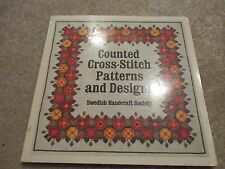 Counted Cross Stitch Patterns and Designs, Needlecraft Book