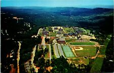 Postcard AL Birmingham Howard College Aerial View - Football Field 1960s K1