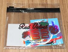 SMTOWN LIVE WORLD TOUR VI in SEOUL OFFICIAL GOODS RED VELVET STICKER PACK NEW