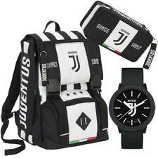 Juventus Schoolpack Seven - Zaino + astuccio 3 zip + orologio