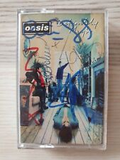 More details for oasis fully hand signed autographed definitely maybe cassette tape sleeve rare