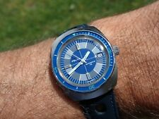 Felca Automatic Vintage Divers rally bracelet & strap All Steel Working Well GC