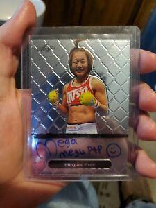 2011 Leaf Metal MMA Megumi Fujii Auto