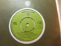 """James Taylor – You've Got a Friend 1971 7"""" Warner Bros K 16085"""