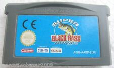 SUPER BLACK BASS ADVANCE - GAMEBOY ADVANCE ITA