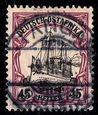 Deutsches Reich Kolonien Deutsch-Ostafrika 28 b , gestempelt / o / geprüft