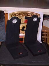 VINTAGE PAIR OF PORSCHE DESIGN1ST GEN. DESK JAZZ LAMPS IN BLACK FULLY WORKING!
