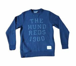 The Hundreds Sweater Mens Large Black 1980 Streetwear HipHop Pockets Swag