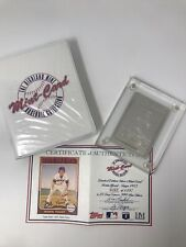 Highland Mint Sports Collection BREWERS ROBIN YOUNT 4.25 oz .999 Silver Topps