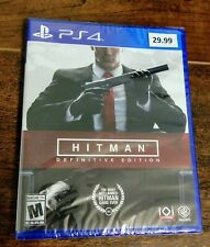 Hitman: Difinitve Edition for PlayStation 4 (Brand New) PS4 ~SEALED~