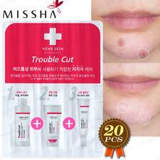 MISSHA Near Skin Trouble Cut Skin Care Set 3-Items 20pcs Acne Blemish Treatment