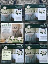 Wallies Wallpaper Cutouts Magnolia Flower Pre-Pasted Washable Wall Art Decal
