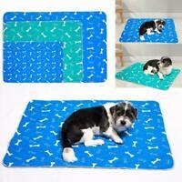Pet Dog Cat Pee Pad Multi-Layer Absorption Mat Washable Sale V0F1