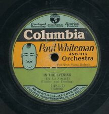 16pc78-Jazz -COLUMBIA 1484-D-Paul Whiteman & his Orchestra