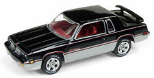 1983 Oldsmobile Hurst Cutlass GLOSS BLACK * Johnny Lightning Muscle 1:64 OVP