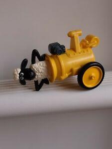 Wallice And Gromit Mcdonalds Toy 'Shaun The Sheep' Sauce Dispenser 2014