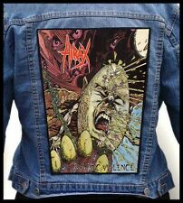 HIRAX - Raging Violence --- Giant Backpatch Back Patch