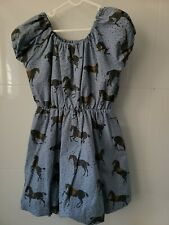 Rock Your Kid Size 5. Blue off the shoulder , balloon skirt style dress.EUC.