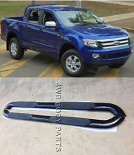 "(#136) Ford Ranger PX 2012 to 2015 4"" Oval Black Side Step Running Boards"