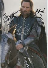 """VIGGO MORTENSEN """"Seigneur des Anneaux"""" autographe signed 20x30 cm image"""