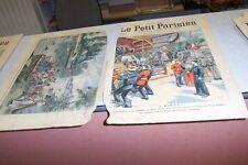 LE PETIT PARISIEN N° 860 1905 A BREST FETES FORRAINE MARINS ET SOLDATS