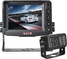 "Heavy Duty CCTV reversing Camera Kit with 5"" Colour Monitor & Colour Camera"