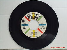 THE FIREFLYS-b-(45)-THE CRAWL/WHERE THE CANDLELIGHTS GLOW-ROULETTE - 4098 - 1958