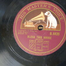 78rpm ESSIE ACKLAND bless this house / soul of mine