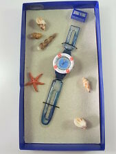 SDN904Pack New Swatch 1999 Rescue Lifeboay Loomi Beach
