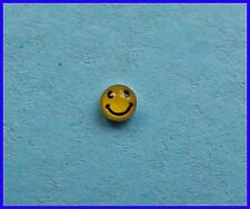 Plata esterlina 925 sonriente cara para Nariz!!!! nuevo!!!