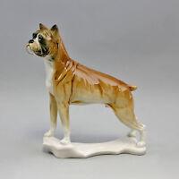 9941323 Porzellan Figur Hund Boxer Ens 20x7x22,5cm