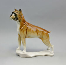Porcelain Figurine Dog Boxer Ens 7 7/8x2 13/16x8 7/8in 9941323