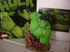 INCREDIBLE HULK MARVEL UNIVERSE LIMITED EDITION BUST