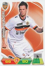 JEREMIE ALIADIERE FC.LORIENT TRADING CARDS ADRENALYN PANINI FOOT 2013