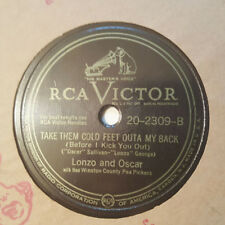 LONZO AND OSCAR Take Them Cold Feet Outa My Back/Ole Buttermilk Sky RCA VICTOR
