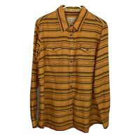 Mens XL100% Cotton Ryan Michael Long Sleeve Western Shirt Extra Large Excellent