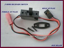 FS RACING 2 WIRE RECEIVER SWITCH XT60 DEANS ACCUCEL 6 PETROL REMOTE CONTROL CARS
