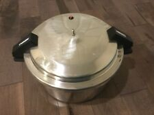 Vintage Mirro Pressure Cooker 12 Quart Qts 11.4L with manuel