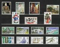 s33223 UK GREAT BRITAIN 1968 All commemoratives sets