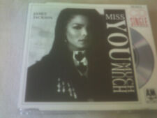 JANET JACKSON - MISS YOU MUCH - CD SINGLE - MISPRESS