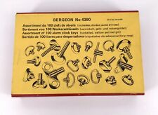 Bergeon 4390 New Assorted 100 x Alarm Buttons and Keys 3WC-