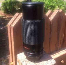 Good Condition! CCT 80-200mm F/4 zoom lens for Pentax SLR cameras